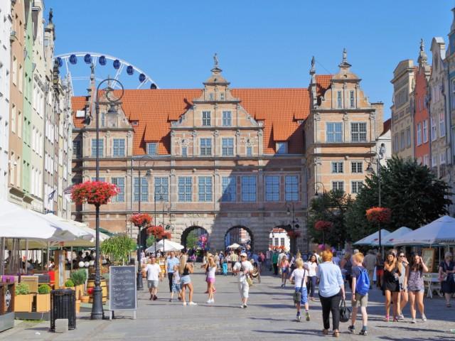 Den grønne port, Hovedbyen i Gdansk. Tur til Gdansk, Sopot og Gdynia – Hit The Road Travel