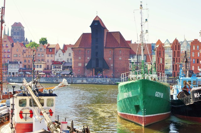 Lastekranen i Gdansk. Bussturer til Polen – Hit The Road Travel