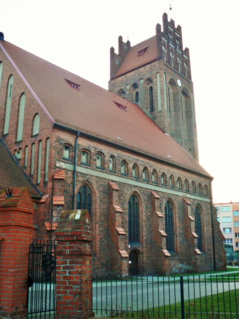 St. Jakob kirke i Lebork. Pilegrimsreise til Polen – Hit The Road Travel