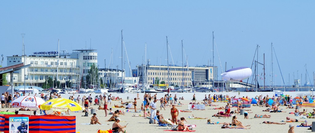 Stranden i Gdynia. Reise til Gdansk – Hit The Road Travel