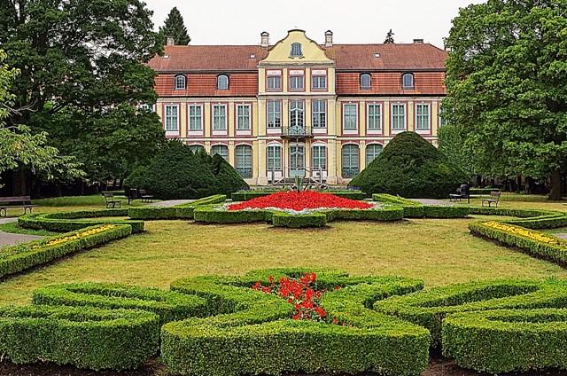 Abbedernes residens i Oliwaparken, Gdansk