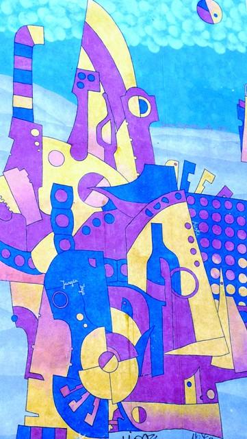 Veggmaleri av Jonas Zagorskas (Litauen). Gdansk pakkereise - Hit The Road Travel