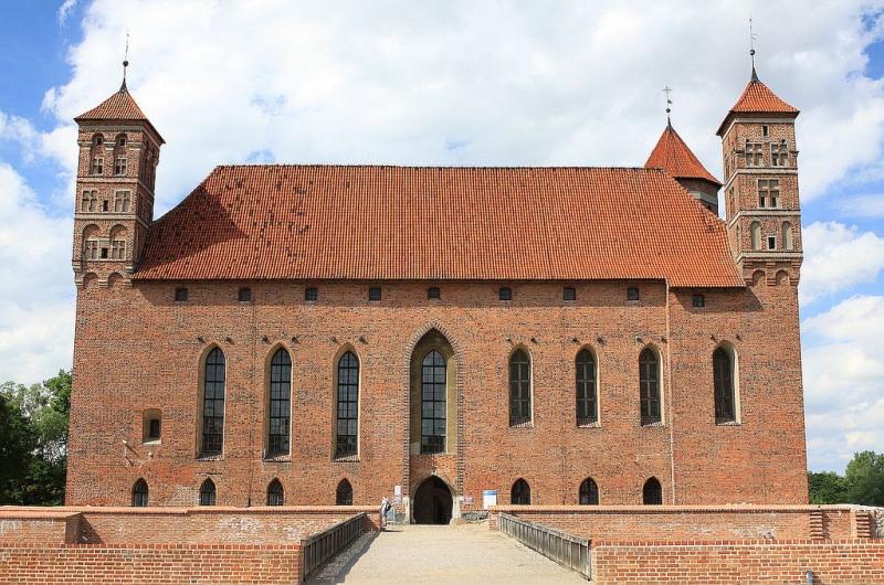 Slottet i Lidzbark Warminski. Pakkereiser til Polen – Nikolaus Kopernikus tur – Hit The Road Travel