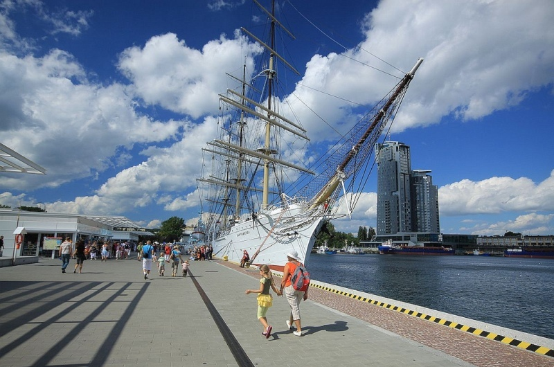 Gdynia, Dar Pomorza . Reise til Gdansk – Hit The Road Travel