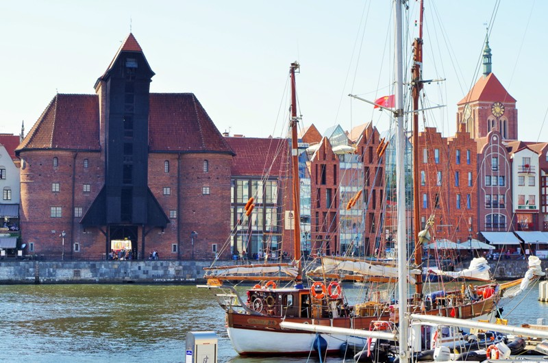 Zuraw - Lastekranen i Gdansk, elven Motlawa. Temareise til Gdansk – Hit The Road Travel
