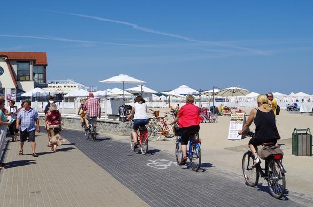 Sykkelvein som går langs kysten fra Gdansk til Gdynia. Sykkelutflukter – Hit The Road Travel