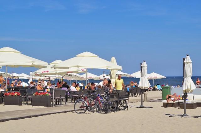Stranden i Sopot. Sykkelutflukter – Hit The Road Travel