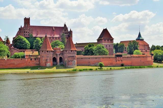Den tyske ordens slott i Malbork