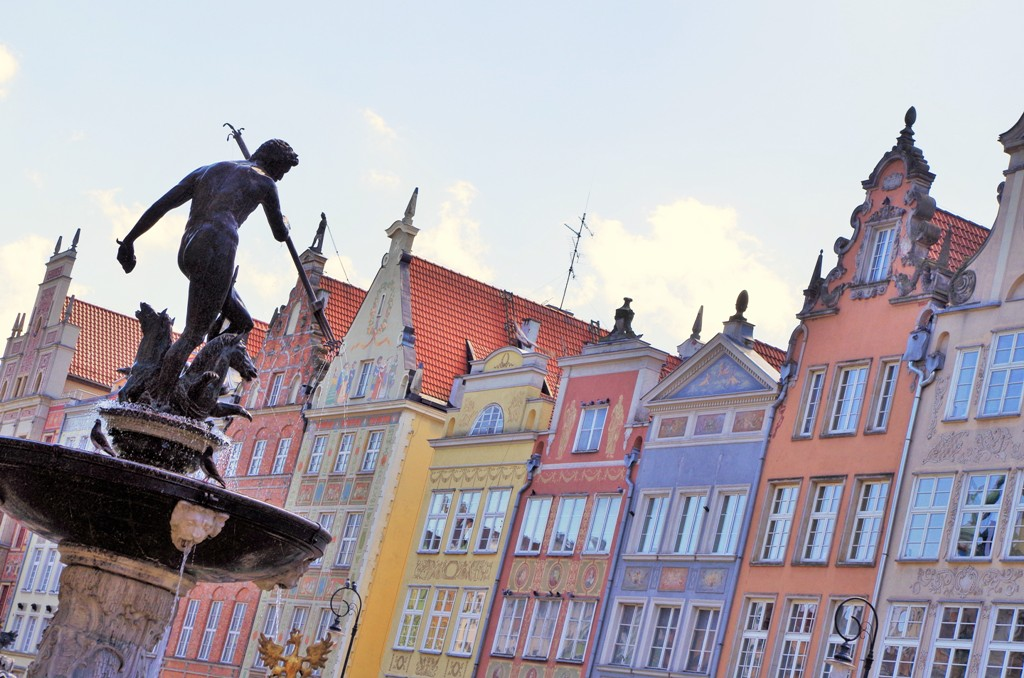 Neptun-fontenen - Hovedbyen i Gdansk. Tur med guide i Gdansk – Hit The Road Travel
