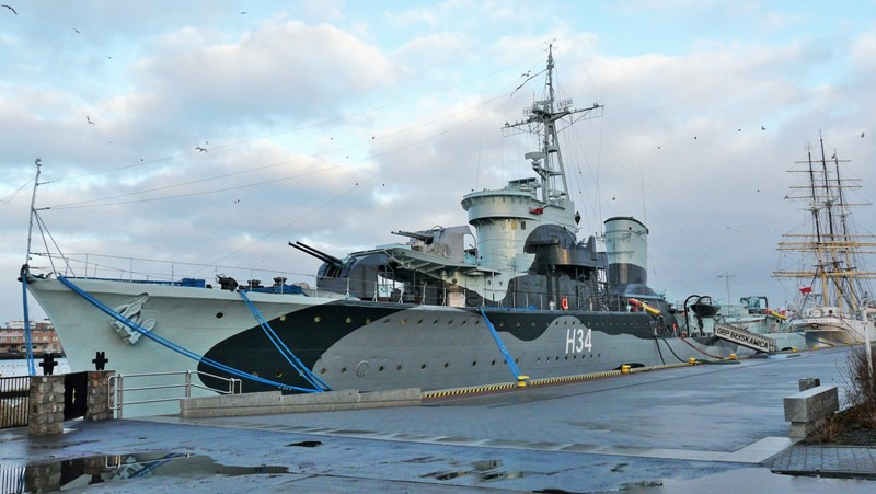 ORP Blyskawica, Gdynia. Historisk reise til Polen – Hit The Road Travel