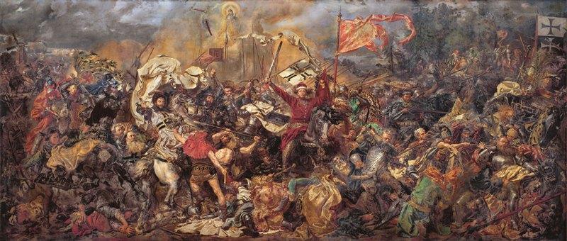 Jan Matejko - Slaget ved Tannenberg (Grunwald), Nasjonalmuseet i Warszawa