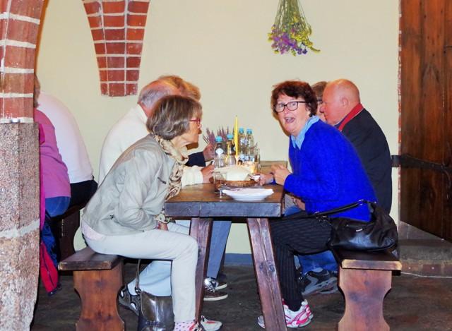 Lunch w Malborku