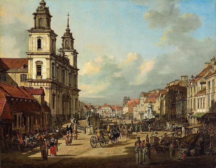 Bernardo Bellotto - Krakowskie Przedmiesciegaten i Warszawa - Reise til Warszawa, Hit The Road Travel