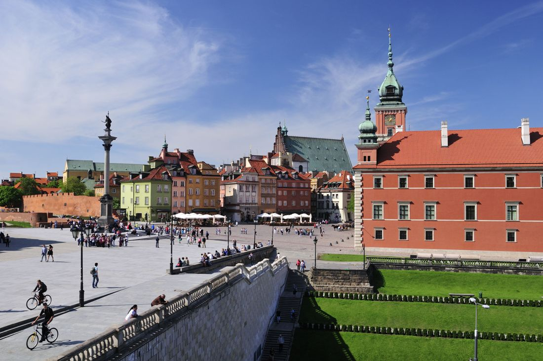 Slottsplassen i Warszawa. Reise til Warszawa – Hit The Road Travel