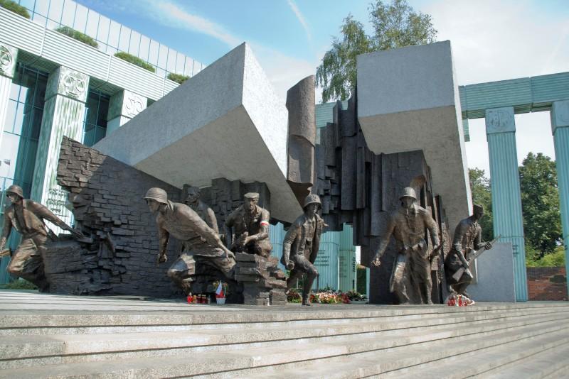 Statue av Warszawaopprøret. Reise til Warszawa – Hit The Road Travel