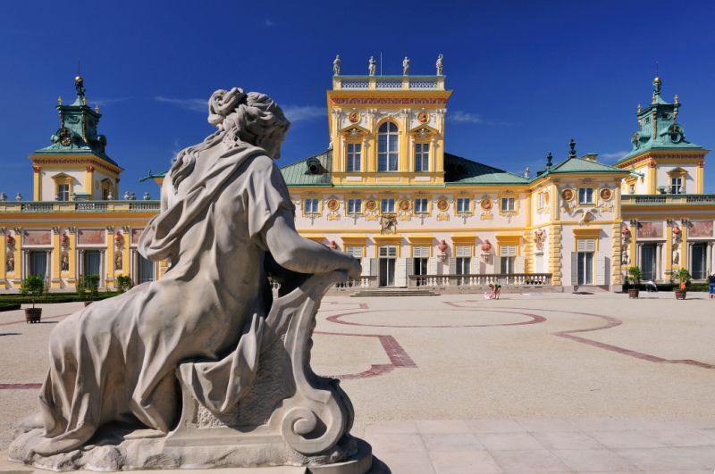 Palasset i Wilanow. Reise til Warszawa – Hit The Road Travel