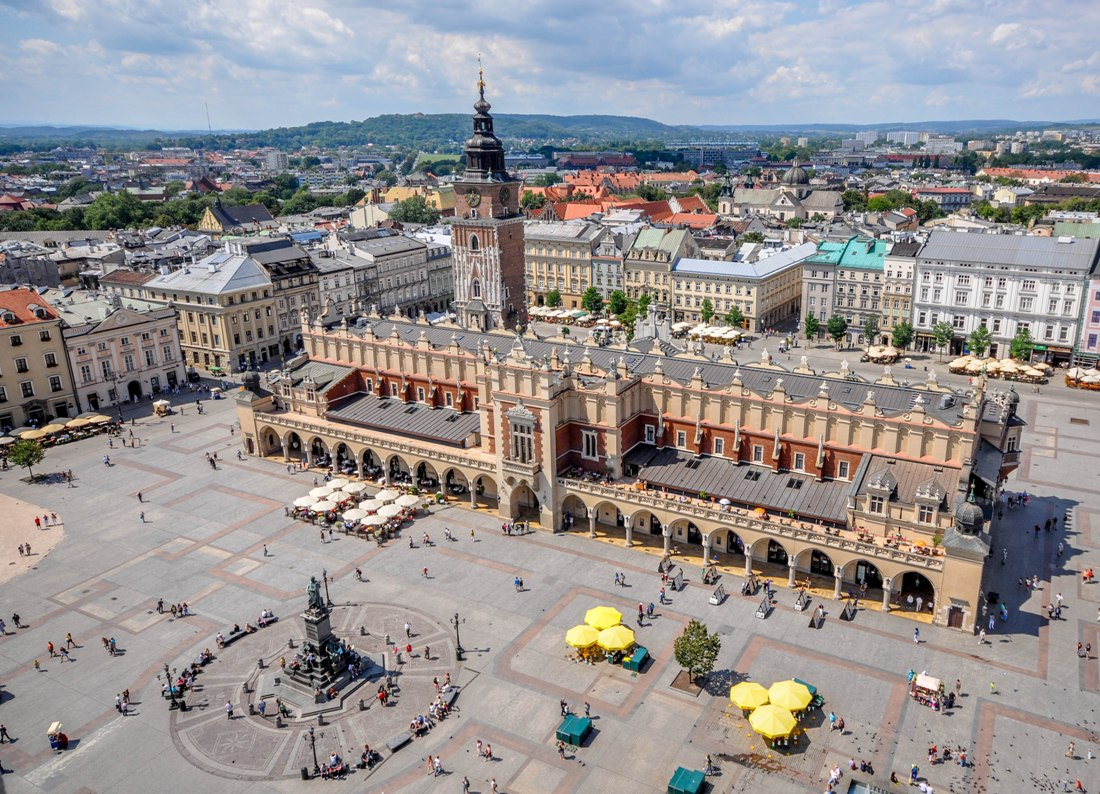Stortorget i Krakow. Reise til Krakow – Hit The Road Travel